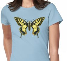 Swallowtail Womens Fitted T-Shirt