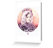 - Bella Virgo - Greeting Card