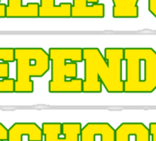 BELLEVUE INDEPENDENT SCHOOL Sticker