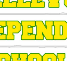 BELLEVUE INDEPENDENT SCHOOLS Sticker