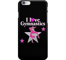 SPARKLING PINK STAR GYMNAST iPhone Case/Skin