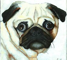 OUR FOUR-LEGGED FRIENDS by LindaAppleArt
