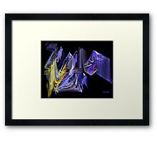 Complementary Chaos Framed Print