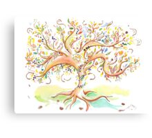 Tree of life / An animation for the Fanconi Anemia Research Fund  Canvas Print