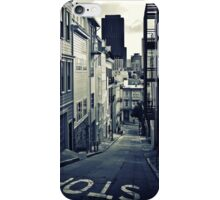 Alley in San Francisco iPhone Case/Skin