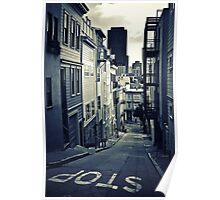 Alley in San Francisco Poster