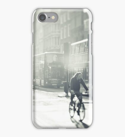 London in Black and White iPhone Case/Skin