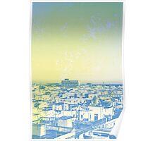 Rooftop, Barcelona Poster