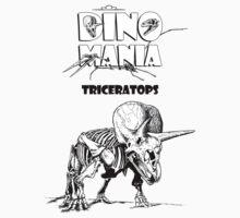 Dino Mania Triceratops Baby Tee