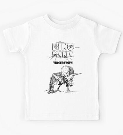 Dino Mania Triceratops Kids Tee