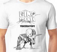 Dino Mania Triceratops Unisex T-Shirt