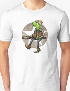 nothing haults this frog Unisex T-Shirt