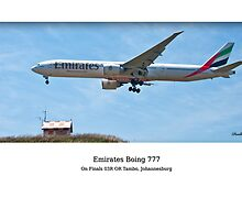 Emirate B777 by Paul Lindenberg