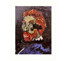 The Puzzle that is Vincent ( Homage to Vincent ) Art Print