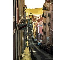 Street to the River Photographic Print