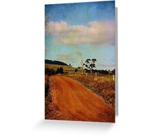 A different road ...  Greeting Card