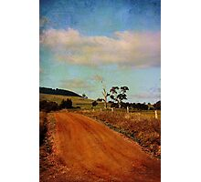 A different road ...  Photographic Print