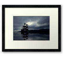 The Sea of Tears Framed Print