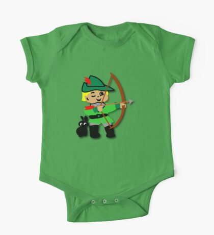 Kid Billy retro featuring Robin Hood Tee One Piece - Short Sleeve