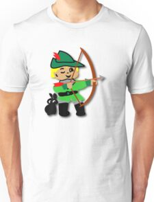 Kid Billy retro featuring Robin Hood Tee T-Shirt