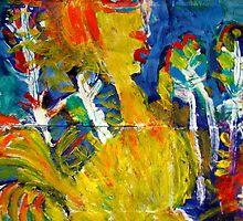 'chook lady' by Shylie Edwards