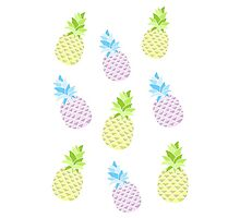 Pineapple Collage by internetokay