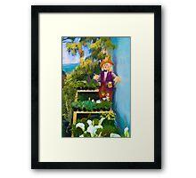 Little Painting. Framed Print