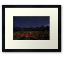 Midnight in the Garden of Good and Evil Framed Print