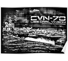USS Carl Vinson (CVN-70) Poster