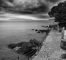 Evening Calm - Opatija, Croatia  by Adrian I Barnett