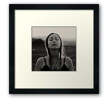 Middle Of A Dream II Framed Print