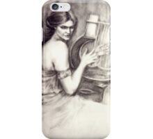 Detail from J.W Waterhouse's 'The Charmer' iPhone Case/Skin