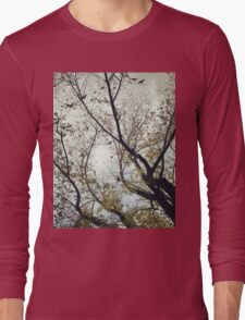Birds Between The Trees Long Sleeve T-Shirt