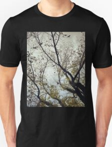 Birds Between The Trees Unisex T-Shirt