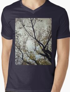 Birds Between The Trees Mens V-Neck T-Shirt