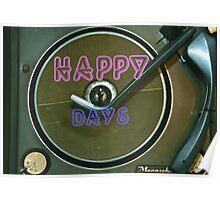"""Happy Days""  Poster"