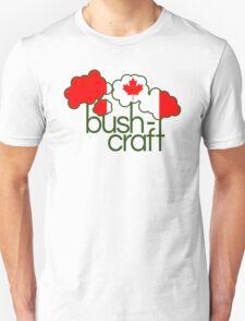 Bushcraft Canada flag T-Shirt