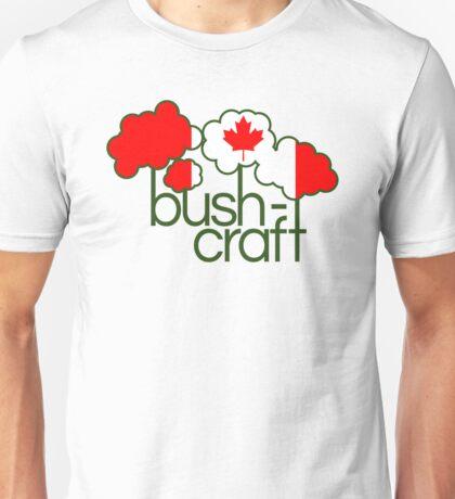 Bushcraft Canada flag Unisex T-Shirt