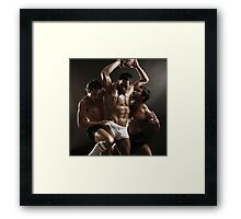 'Soccer' - October 2010 Framed Print