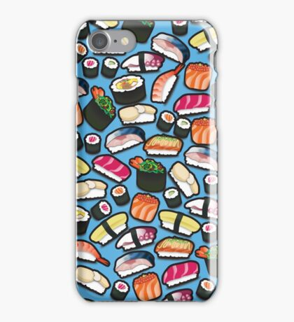Blue Sushi iPhone Case/Skin