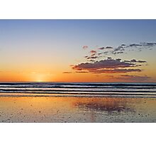 A Tranquil Evening On The Beach Photographic Print