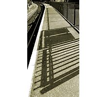 IT CAN BE LONELY TRAVELLING ALONE Photographic Print