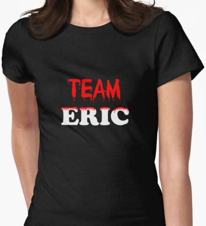 Team Eric Womens Fitted T-Shirt