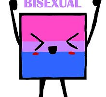 Bisexual flag by Anitha  Vithayathil