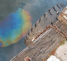 Ironic Oil Spill by Lana Roche