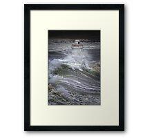 Brute Force Framed Print