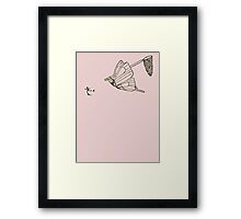 Butterfly Metamorphosis Framed Print