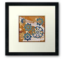 steampunk  Framed Print