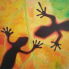 Geckos by Gary Hogben