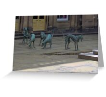 The Chatsworth Whippets Greeting Card
